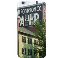 Portland, Maine - Ghost Mural iPhone Case/Skin