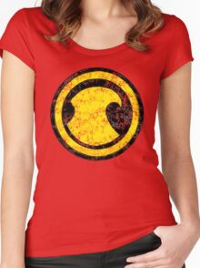 Red Robin - DC Spray Paint Women's Fitted Scoop T-Shirt