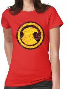 Red Robin - DC Spray Paint Womens Fitted T-Shirt