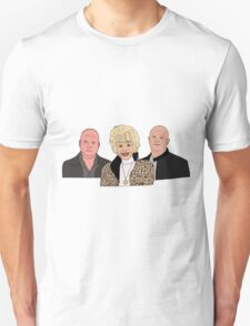 Peggy and her boys.  Unisex T-Shirt