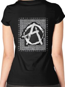 A for anarchy Women's Fitted Scoop T-Shirt
