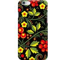 Аshberry on black background iPhone Case/Skin