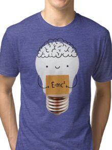 Cute light bulb Tri-blend T-Shirt
