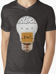 Cute light bulb Mens V-Neck T-Shirt