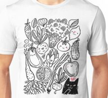 Funny vegetables Unisex T-Shirt