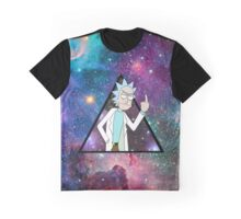 rick and morty space 3 Graphic T-Shirt