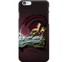 Scary monsters in dark room iPhone Case/Skin