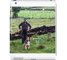MAN AND DOG OF IRELAND iPad Case/Skin