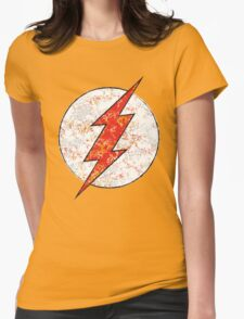 Kid Flash - DC Spray Paint Womens Fitted T-Shirt