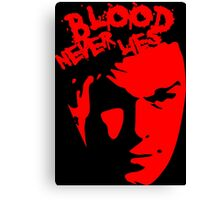 Dexter - Blood Canvas Print