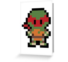 Pixel Raphael Greeting Card