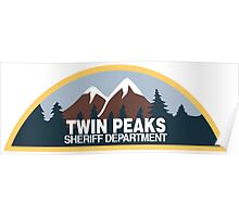Twin Peaks- sheriff department Poster
