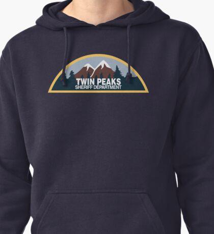 Twin Peaks- sheriff department Pullover Hoodie