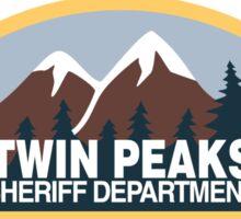 Twin Peaks- sheriff department Sticker