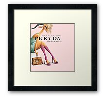 Gazelle for Preyda Framed Print