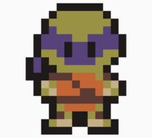Pixel Donatello Kids Tee