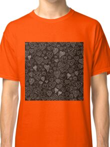 The pattern in the heart Classic T-Shirt