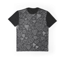 The pattern in the heart Graphic T-Shirt