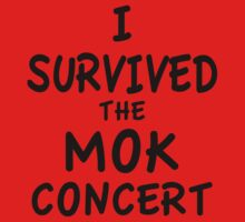I SURVIVED THE MOK CONCERT One Piece - Long Sleeve