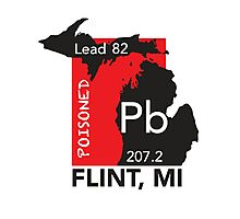 Poisoned Flint, MI Photographic Print