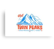 Twin Peaks- Welcome Canvas Print