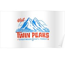 Twin Peaks- Welcome Poster
