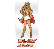 SLAY ALL DAY (Bey Version) Poster