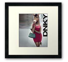 DNKY Framed Print