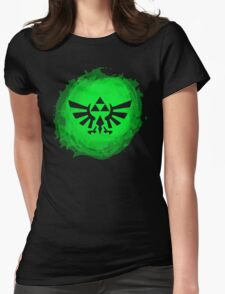 Triforce art 3 Womens Fitted T-Shirt