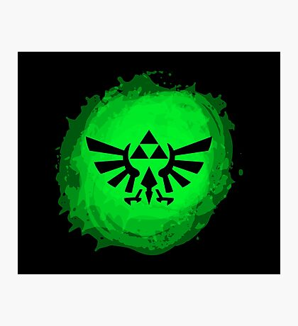 Triforce art 3 Photographic Print