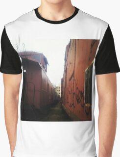 Trains Graphic T-Shirt