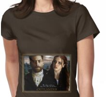 RogerMac and Bree Womens Fitted T-Shirt