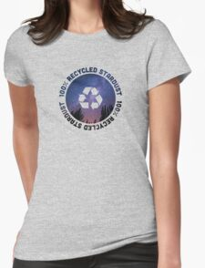 100% recycled stardust Womens Fitted T-Shirt