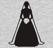 Bride dress One Piece - Long Sleeve