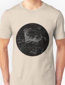 Aries Zodiac Sign Hevelius Circa 1690 T-Shirt