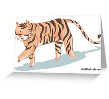 Magic Novels Tiger Greeting Card