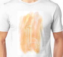 Watercolor Giraffe Unisex T-Shirt