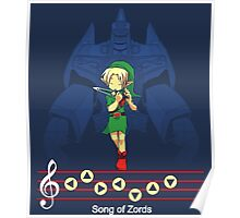 Song of Zords Poster