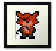 Pixel Foxy Framed Print