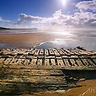 """Shipwreck-""""The Willemoes""""- Wrecked Dec 25th , 1924. Freshwater West. by Mark Haynes Photography"""