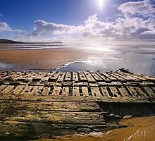 "Shipwreck-""The Willemoes""- Wrecked Dec 25th , 1924. Freshwater West. by Mark Haynes Photography"