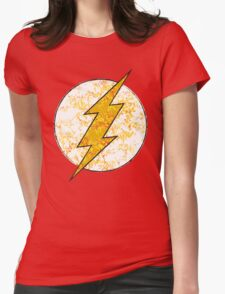 Flash - DC Spray Paint Womens Fitted T-Shirt