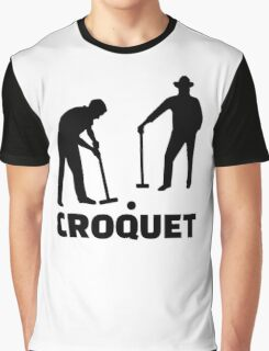 Croquet Graphic T-Shirt