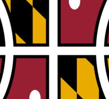 Maryland Basketball Sticker