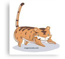 Magic Novels Baby Tiger Canvas Print