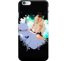 Mononoke painting iPhone Case/Skin