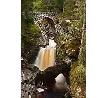 lower bridge, falls of bruar Photographic Print