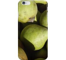 Green Pears iPhone Case/Skin