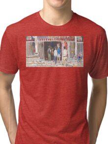 Man Mo Temple Tri-blend T-Shirt