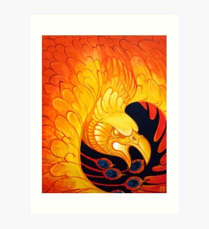 Phoenix for Flint Art Print